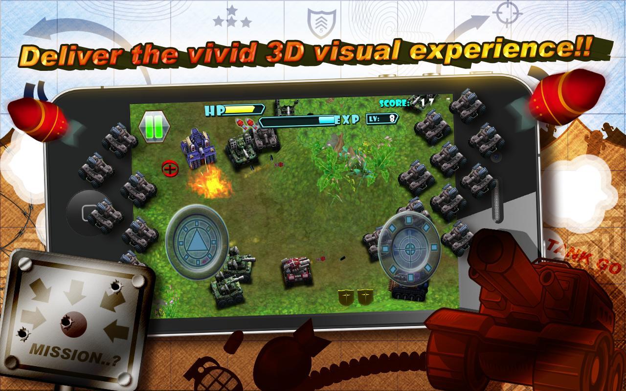 3D TANK GO Lite- screenshot
