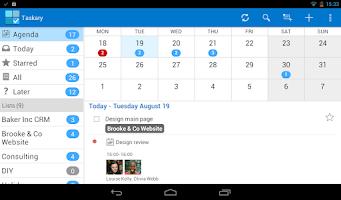 Screenshot of Tasks & To-do for Google Tasks