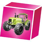 3D Block Cubes: Tractor Series