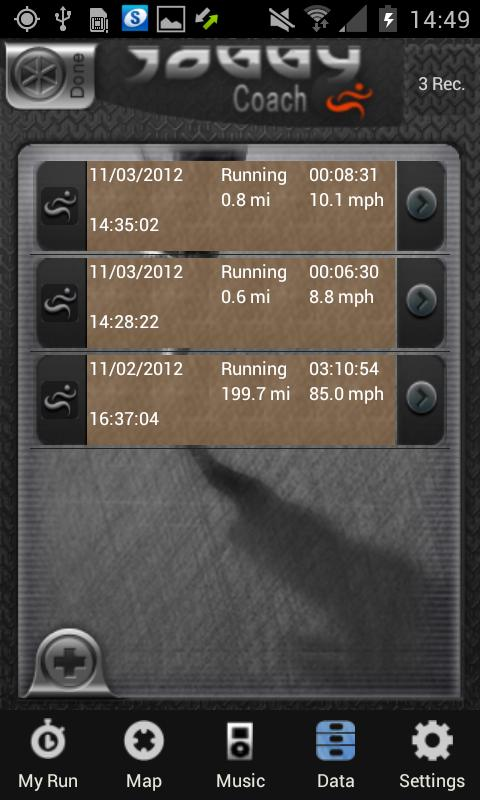 Joggy Coach- screenshot