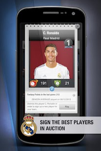 Real Madrid FantasyManager '14