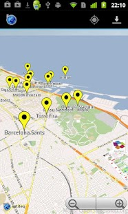 Barcelona MWC Offline Maps - screenshot thumbnail