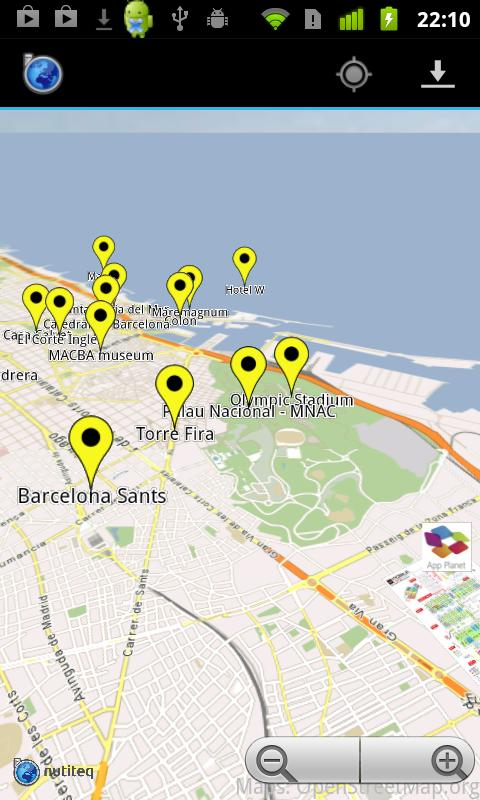 Barcelona MWC Offline Maps - screenshot