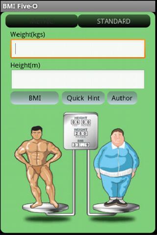 【免費健康App】BMI Five-O-APP點子