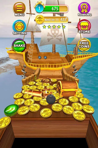 Pirate Coin Dozer