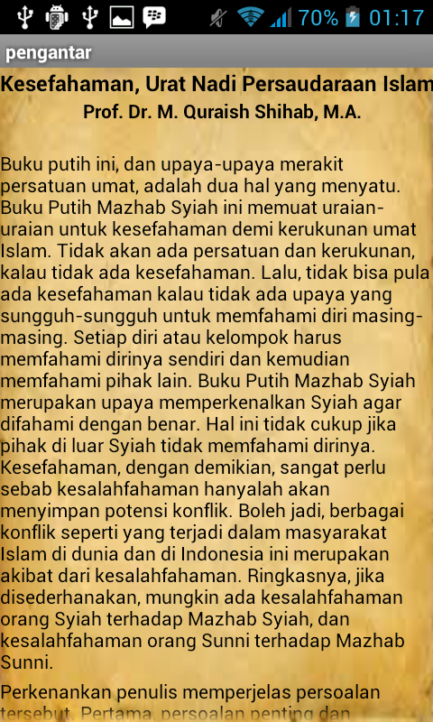 Buku Putih Mazhab Syiah - screenshot