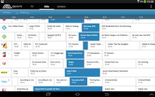 Screenshot of DELTA TV