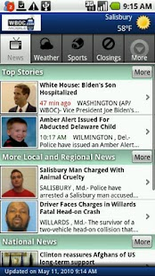 WBOC TV16 - screenshot thumbnail