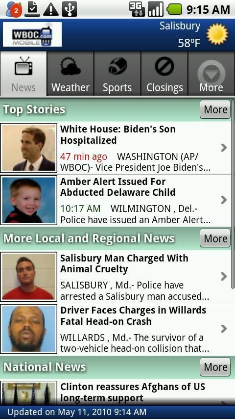 WBOC TV16 - screenshot