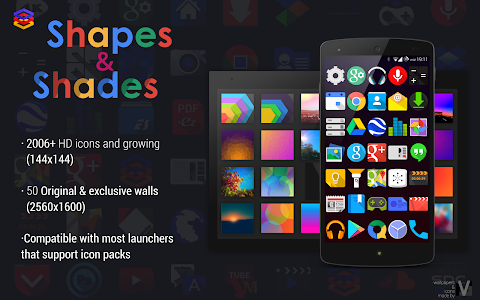 Shapes & Shades  icons&walls v2.2