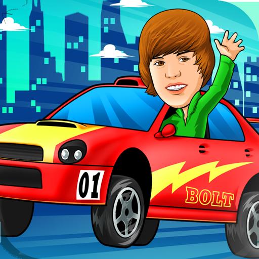 Justin Bieber down hill race ! LOGO-APP點子