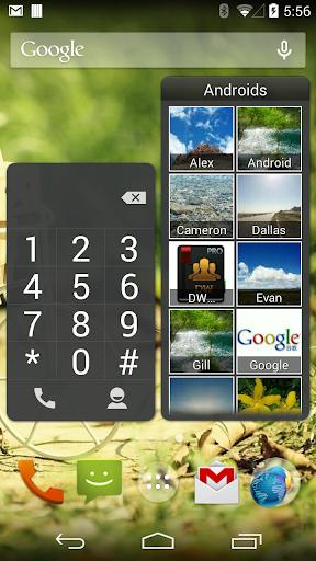 DW Contacts widget