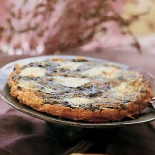 Wild Greens and Cheese Frittata (Frittata di Verdura e Formaggio).