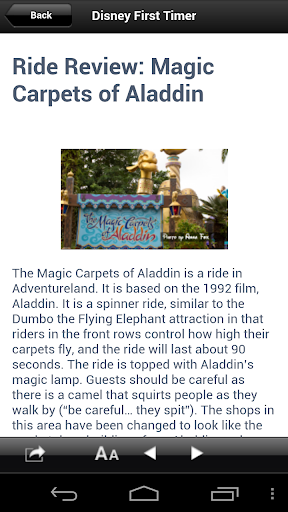 【免費旅遊App】Disney 1st Timer Ride Reviews-APP點子