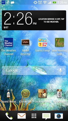 無料个人化Appの海の下でライブ壁紙|記事Game