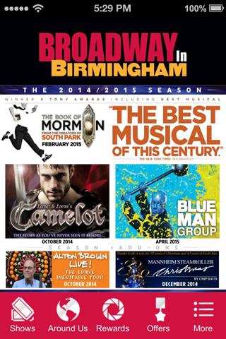 Broadway in Birmingham