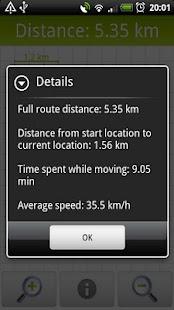 GPS Distance Meter- screenshot thumbnail