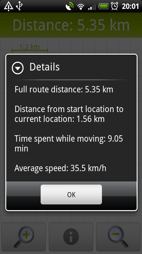 GPS Distance Meter- screenshot
