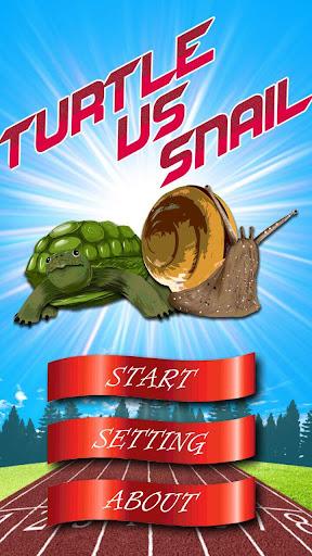 Turtle vs Snail - 慢鬥慢