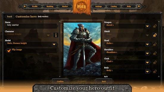Eldhelm - online CCG/RPG - screenshot thumbnail