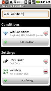 Locale Wifi Conditions Plug-in