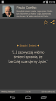 Screenshot of Znakomite Cytaty