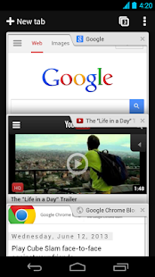 Navegador Chrome - Google - screenshot thumbnail