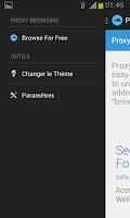 Screenshot of Proxy Browser