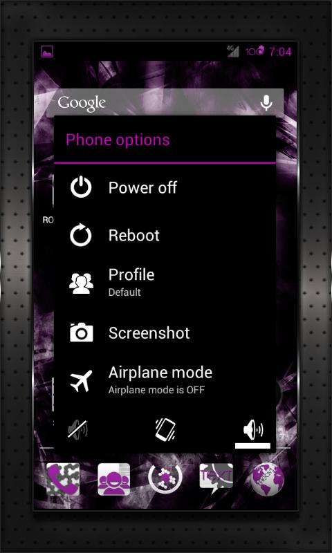 PINK HEAVY CM10 AOKP CM7+- screenshot