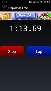 Stopwatch Free - screenshot thumbnail