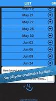 Screenshot of My Gratitude Journal - Ltd Ed