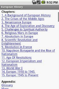 European History - screenshot thumbnail