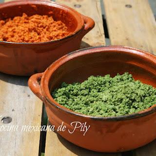 Green Chorizo.