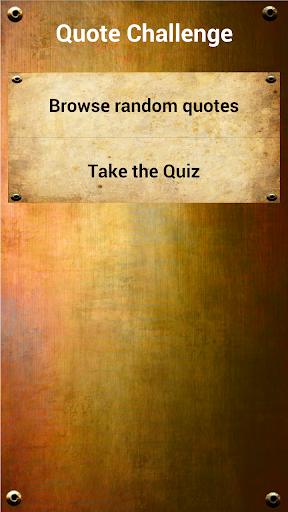 Quote Challenge