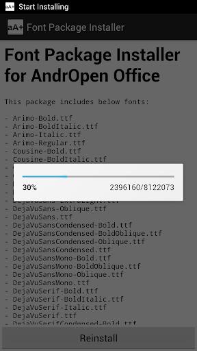 Font Pack 2.1.0 screenshots 2