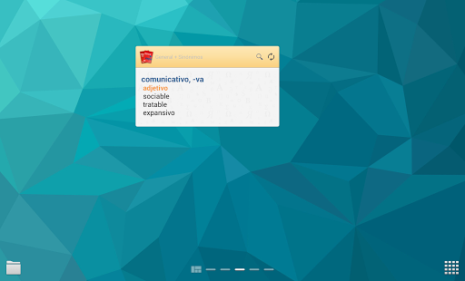 VOX General Spanish +Thesaurus - screenshot thumbnail
