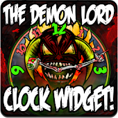 DEMON LORD Clock Widget