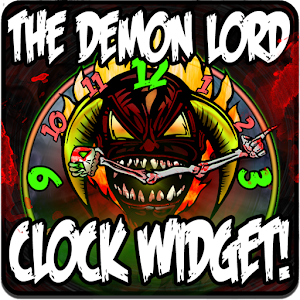 DEMON LORD Clock Widget 個人化 LOGO-玩APPs