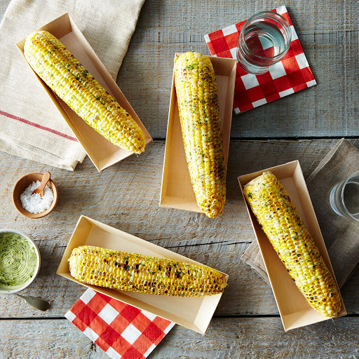 Compostable Wooden Corn on the Cob Tray (Set of 20)