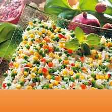 Abbildung Gemüse-Reis-Pfanne