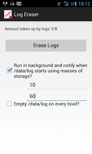 Log Eraser