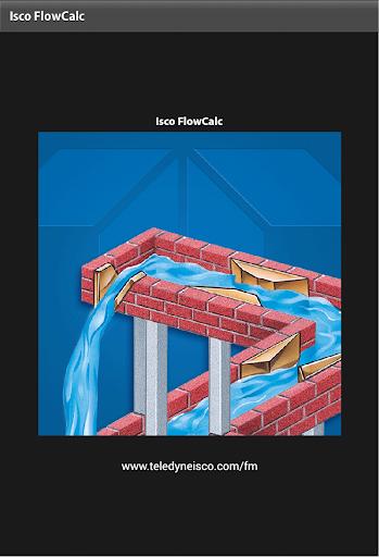 Isco FlowCalc