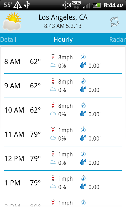 Weather Plus - screenshot