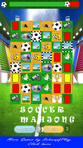 Soccer Mahjong Game for kids