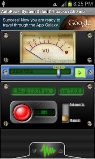 Automatic Audio Recorder
