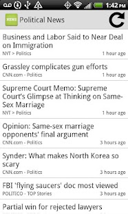 Political News- screenshot thumbnail
