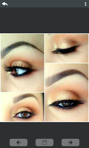 Eyes makeup step by step 2