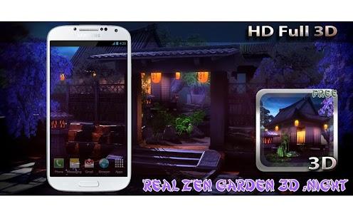 Real Zen Garden 3D: Night LWP