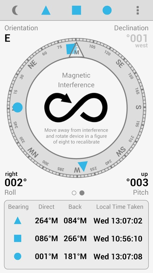 Field Compass Plus - screenshot