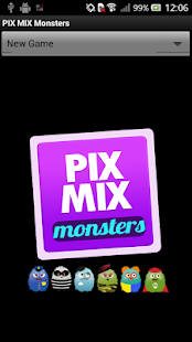 PIX MIX Monsters - screenshot thumbnail